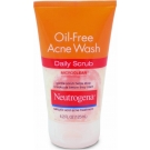 Neutrogena Oil-Free Acne Wash Daily Scrub 4.2oz