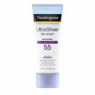 Neutrogena Ultra Sheer Dry-Touch Sunscreen, SPF 55- 3oz