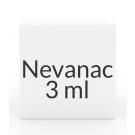 Nevanac 0.1% Ophthalmic Solution Droptainer- 3ml
