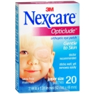 Nexcare Opticlude Orthoptic Eye Patches Junior Size - 20ct