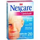 Nexcare Opticlude Orthoptic Eye Patches - 20ct