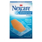 Nexcare Waterproof Clear Bandage, Knee and Elbow - 8ct
