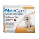 NexGard For Dogs (4-10lbs) (Orange)- 3 Dose Pack
