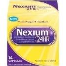 Nexium 24HR Delayed Release Capsules 22.3mg  - 14 Capsule Box (Over-The-Counter no prescription needed)