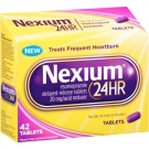 Nexium 24-Hour Delayed Release Heartburn Relief Tablets - 42ct