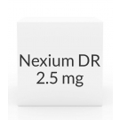 Nexium DR 2.5mg Powder- 30 Unit Dose Packets