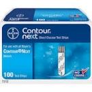 Bayer Contour Next Blood Glucose Test Strips- 100ct