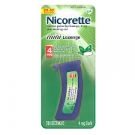 Nicorette Mini Lozenge 4 mg Mint - 20ct