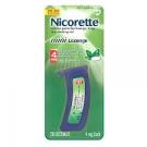 Nicorette Mini Lozenge 4 mg Mint - 20ct