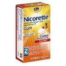 Nicorette Nicotine Gum 2mg Fruit Chill - 20ct