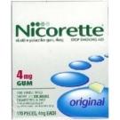 Nicorette Gum 4mg Original Flavor Regular - 170ct Box