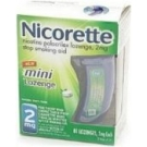 Nicorette 2mg Mini Lozenge Mint 81ct