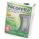 Nicorette 4mg Mini Lozenge Mint 81ct