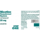 Nicotine Transdermal System (21mg) - 14 Patches