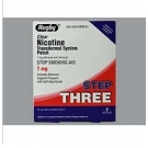 Nicotine Transdermal System Step 3 (Generic) - 7mg/24HR Patch 7ct