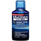 Mucinex Fast-Max Maximum Strength Night Time Cold & Flu Relief Liquid- 6oz