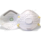 NIOSH Approved N95 Respirator Mask with Exhalation Valve - Pack of 10 Masks***Call for special price on Bulk Orders****