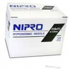 Nipro Hypodermic Needle 22 Gauge, 1 1/2
