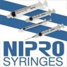 Nipro Syringe 23 Gauge, 3cc, 1 1/2