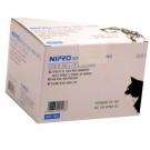 Nipro Veterinary Insulin U 100 Syringe, 29 Gauge, 3/10 cc, 1/2