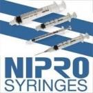 Nipro Syringe 23 Gauge, 3cc, 1