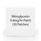 Nitroglycerin 0.4mg/hr Patch (30 Patches)