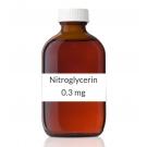 Nitroglycerin 0.3mg Sublingual Tablets-100 Tablet Bottle