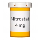 Nitrostat 0.4 mg Sublingual Tablets - 100 Tablet Bottle