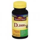 Nature Made Vitamin D3 2000 I.U. Tablets 100ct