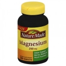 Nature Made Magnesium 250mg, Tablets- 200ct