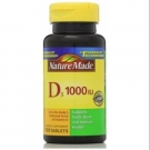 Nature Made Vitamin D3 1000 IU Tablets 100ct