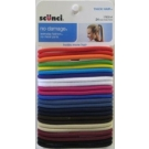 Scünci No Damage Elastics, Multi Colors, 24ct- 3 Packs