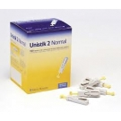 Unistik 2 NORMAL Safety Lancets- 100ct