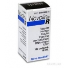 Novolin R Insulin 100UN/ml - 10ml vial