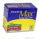Nova Max Diabetic Test Strips - 50 Strips