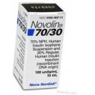 Novolin 70/30 Insulin, 100 Units/mL, 10mL Vial