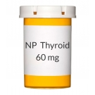 NP Thyroid 60 mg  Tablets