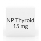 NP Thyroid 15mg  Tablets
