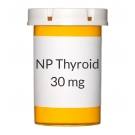 NP Thyroid 30mg  Tablets