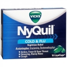 Vicks® Nyquil Cold & Flu Relief LiquiCaps- 16ct