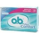 O.B. Pro Comfort Non-Applicator Regular 18 each
