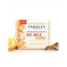 Yardley Of London Nourishing Elements Bar Soap, Oat, Milk & Honey- 10.5oz