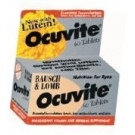 Bausch & Lomb Ocuvite Tablets 60ct