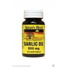 Nature's Blend Garlic Oil Softgels, 500mg- 100ct