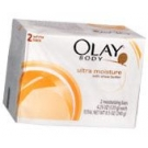 Olay Ultra Moisture Moisturizing Bars 2-Pack White  8.5 oz***PRODUCT DISCONTINUED ONLY 5 LEFT IN STOCK****