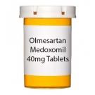 Olmesartan Medoxomil 40mg Tablets