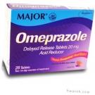 Major Omeprazole 20mg Delayed Release - 28 Tablets