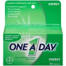 One A Day Energy Tablets- 50ct