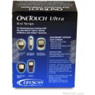 OneTouch Ultra Diabetic Test Strips - 50 Strips (Retail)