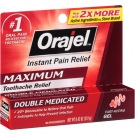 Orajel Instant Toothache Pain Relief Maximum Strength Gel - 0.42 oz